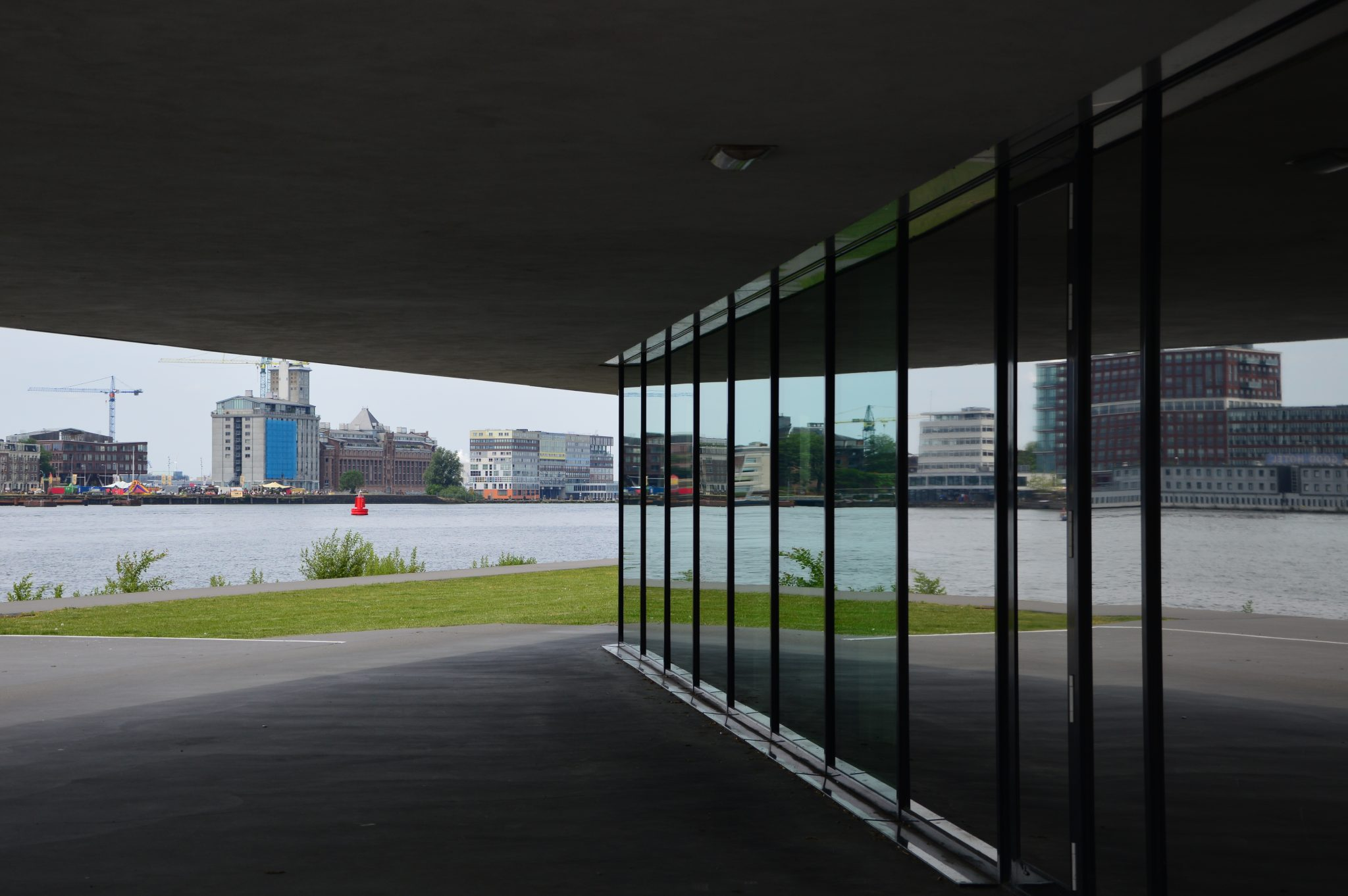 Amsterdam spiegeling Eye