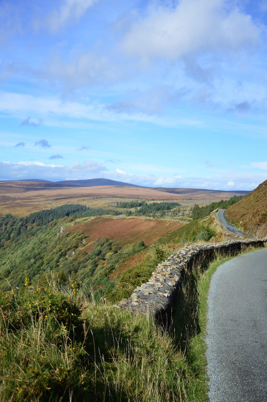 Ierland Wicklow mountainss